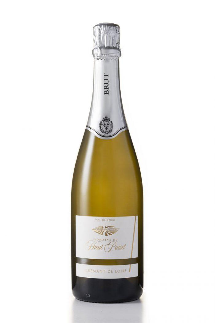 Cremant Brut Domaine du Haut Puiset domaine viticole , vignoble français
