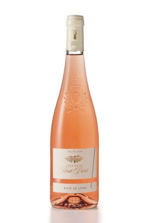 Rose de Loire Domaine du Haut Puiset domaine viticole , vignoble français