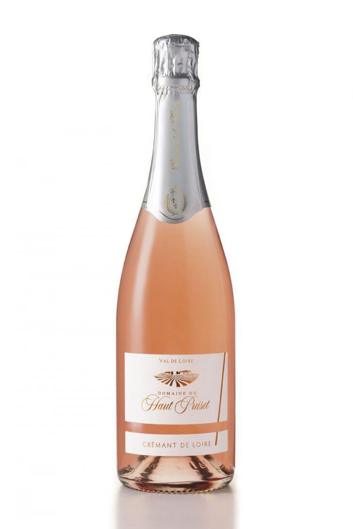 rosé Cremant de Loire Domaine du Haut Puiset domaine viticole , vignoble français